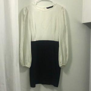 Zara long sleeve dress Sz XS
